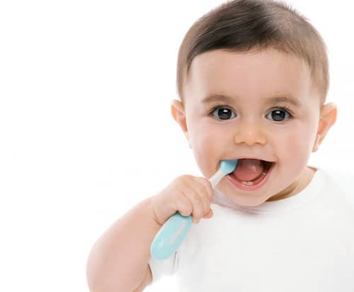 infant dental care